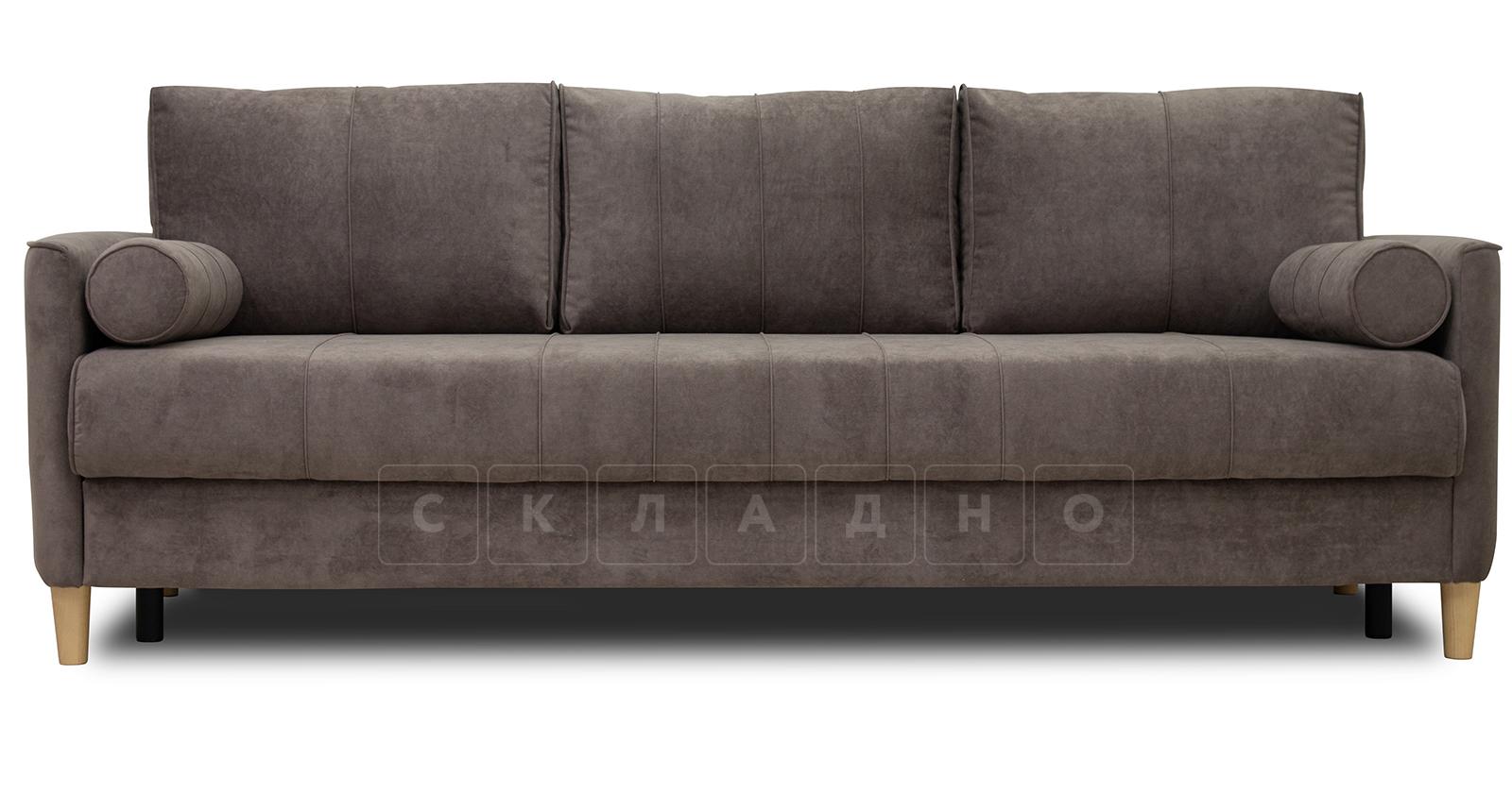 Диван-кровать Лорен серо-коричневый фото 2 | интернет-магазин Складно