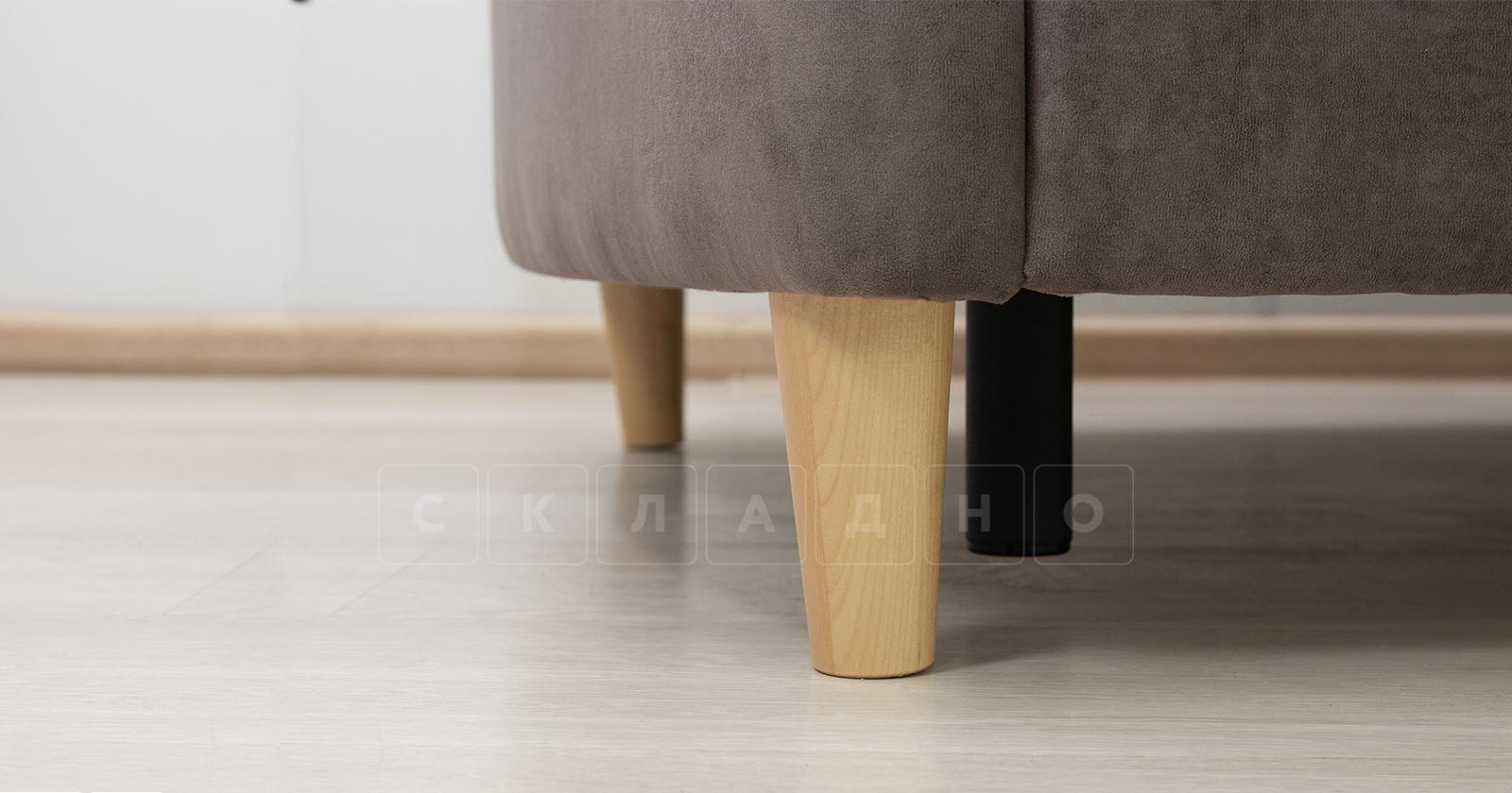 Диван-кровать Лорен серо-коричневый фото 11 | интернет-магазин Складно