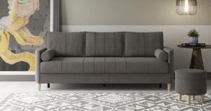 Диван-кровать Лорен серо-коричневый 39400 рублей, фото 12 | интернет-магазин Складно