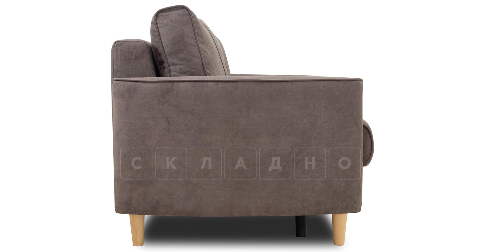 Диван-кровать Лорен серо-коричневый фото 3 | интернет-магазин Складно
