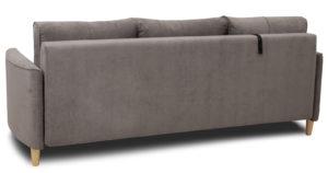 Диван-кровать Лорен серо-коричневый 39400 рублей, фото 4 | интернет-магазин Складно