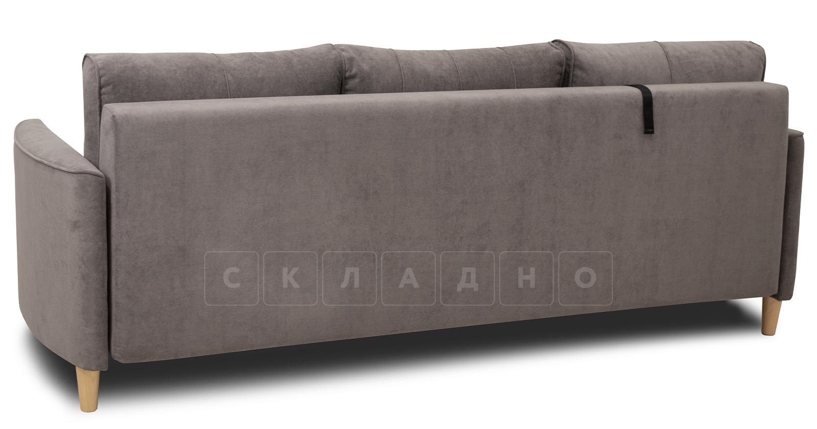 Диван-кровать Лорен серо-коричневый фото 4 | интернет-магазин Складно