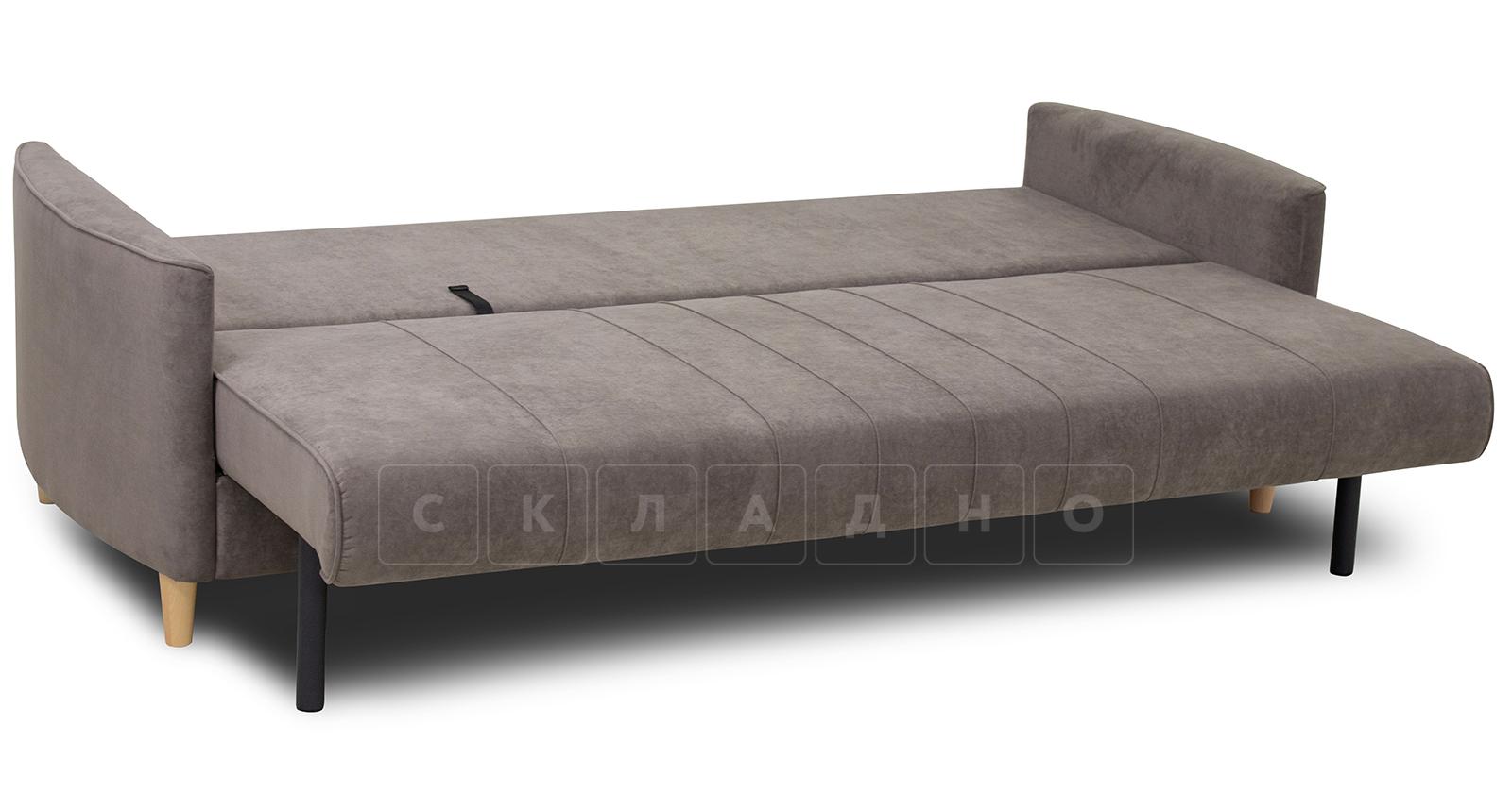 Диван-кровать Лорен серо-коричневый фото 5 | интернет-магазин Складно