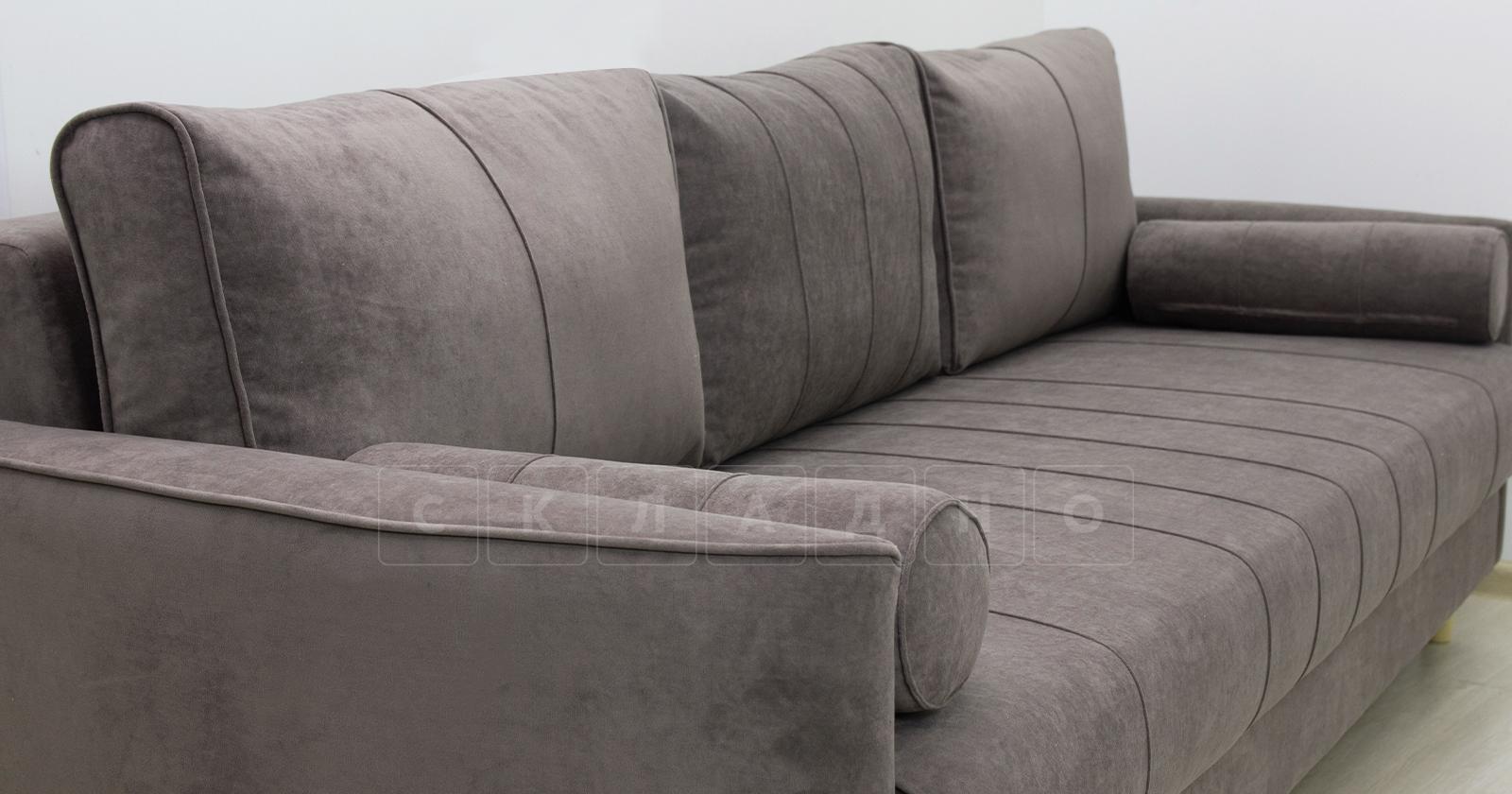 Диван-кровать Лорен серо-коричневый фото 6 | интернет-магазин Складно