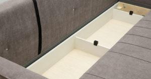Диван-кровать Лорен серо-коричневый 39400 рублей, фото 10 | интернет-магазин Складно