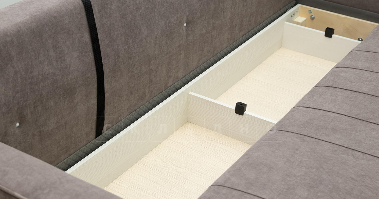 Диван-кровать Лорен серо-коричневый фото 10 | интернет-магазин Складно