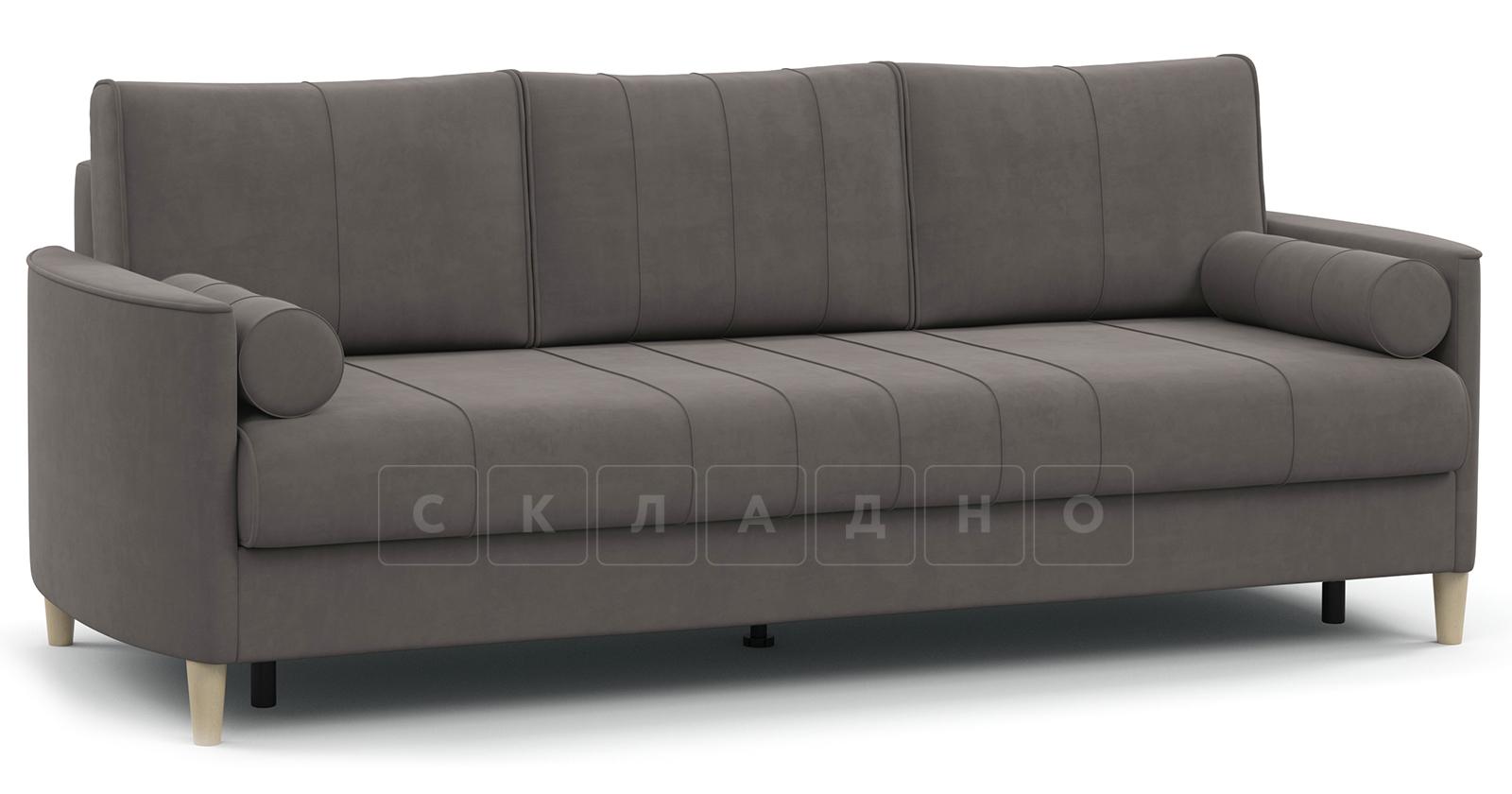 Диван-кровать Лорен серо-коричневый фото 1 | интернет-магазин Складно