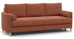Диван-кровать Лорен кирпичный-15587 фото | интернет-магазин Складно