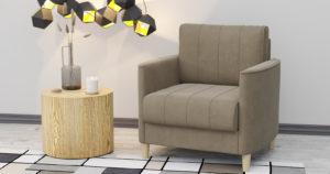 Кресло для отдыха Лорен песочный 12850 рублей, фото 2   интернет-магазин Складно