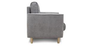 Кресло для отдыха Лорен серебристый серый 13590 рублей, фото 3   интернет-магазин Складно