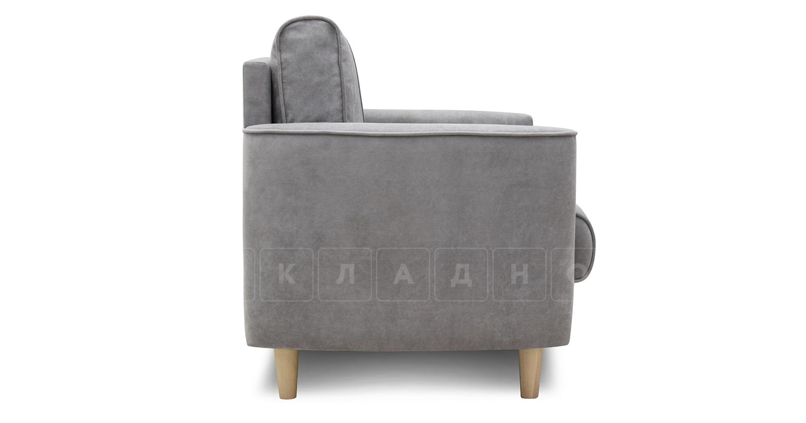 Кресло для отдыха Лорен серебристый серый фото 3   интернет-магазин Складно