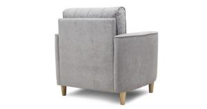 Кресло для отдыха Лорен серебристый серый 13590 рублей, фото 4   интернет-магазин Складно