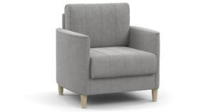 Кресло для отдыха Лорен серебристый серый-15599 фото | интернет-магазин Складно